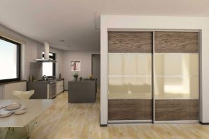 Wood Effect Sliding Doors