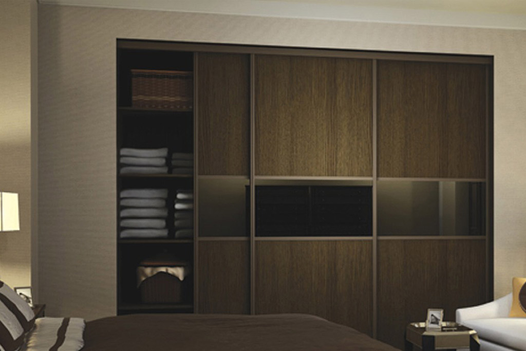 Wooden Effect Sliding Doors