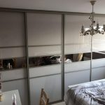 Cashmere Split Panel Wardrobe Door