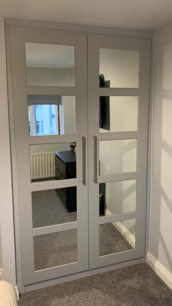 Mirrored Wardrobe Doors